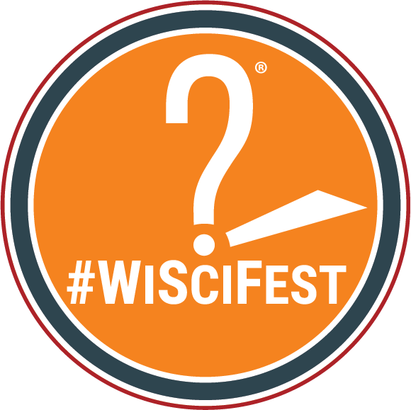 Wisconsin Science Festival Circle Stamp
