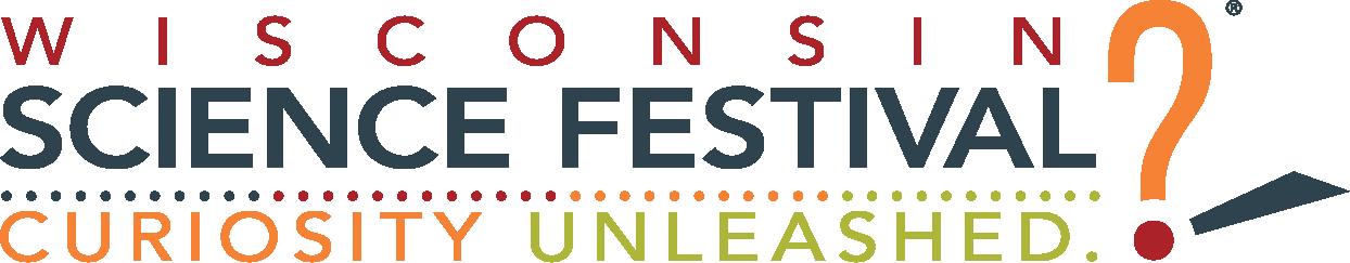 Wisconsin Science Festival main logo